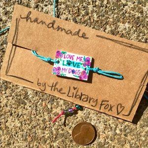 Jewelry - Handmade adjustable bracelet/anklet (SOLD)